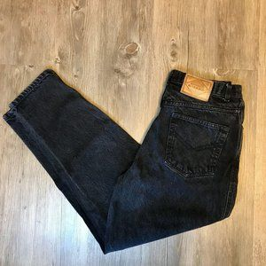 PS Gitano Vintage 80s High Rise Mom Jeans Black